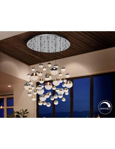 Lámpara de techo Esferas. Calidad y belleza.