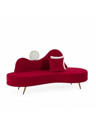 Sofa diván con espejo. Mejor precio garantizado