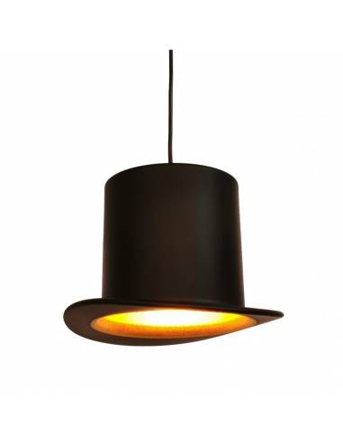 Lámpara de techo con forma de sombrero de copa