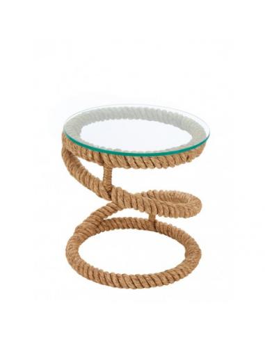 Mesa auxiliar cuerda