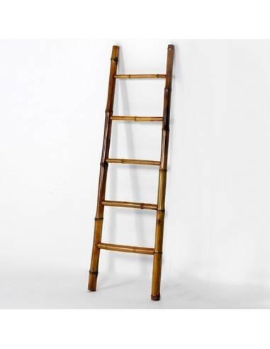 Escalera Toallero Diseño Bambu