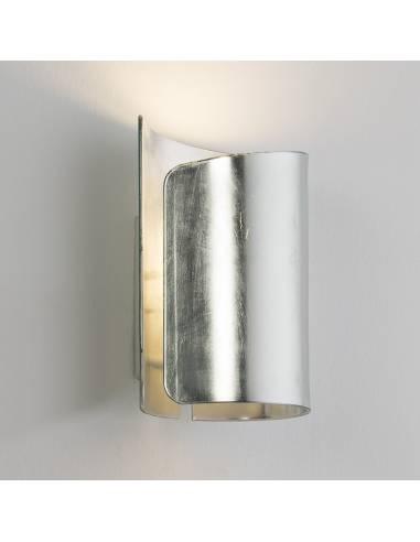 Aplique de pared en pan de plata